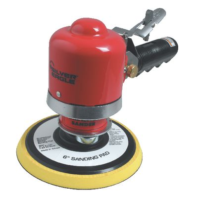 "SILVER EAGLE 6"" DUAL ACTION SANDER 