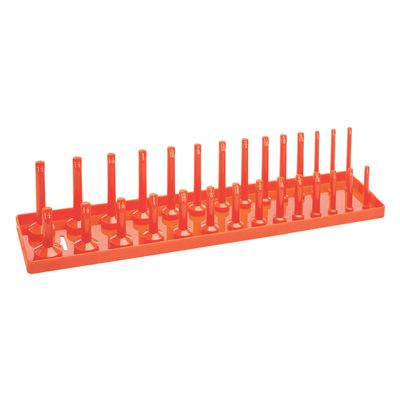 "2-1/2"" SAE SOCKET TRAY - ORANGE 