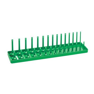 "2-3/8"" METRIC SOCKET TRAY - GREEN 