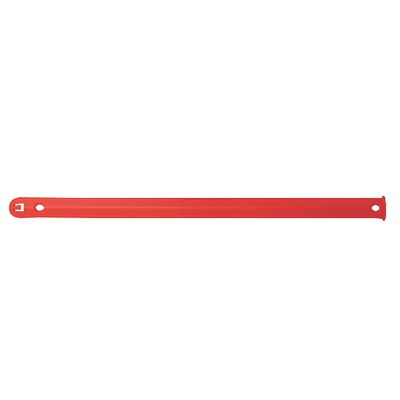 "SAE SOCKET RAIL 15"" WORKING LENGTH RED 