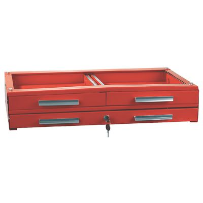 RED LOCKING 3-DRAWER UNIT FOR SP8225A AND SP8230 SERVICE CARTS | Matco Tools