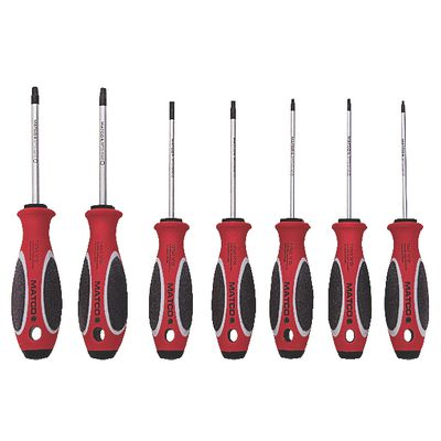 7 PIECE TOP TORQUE II RED TORX SCREWDRIVER SET | Matco Tools