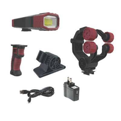 UNIVERSAL CLAMP RECHARGEABLE LIGHT KIT | Matco Tools