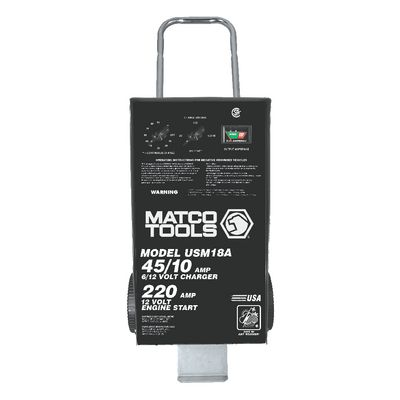 6/12V STANDARD-DUTY WHEEL CHARGER | Matco Tools