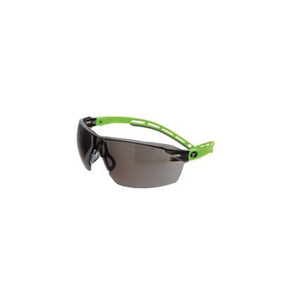 VERATTI® LITE™ SAFETY GLASSES, GRAY & GREEN FRAME WITH GRAY LENS | Matco Tools