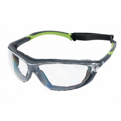 VERATTI® PRIMO™ GRAY & GREEN FRAME WITH CLEAR LENS | Matco Tools