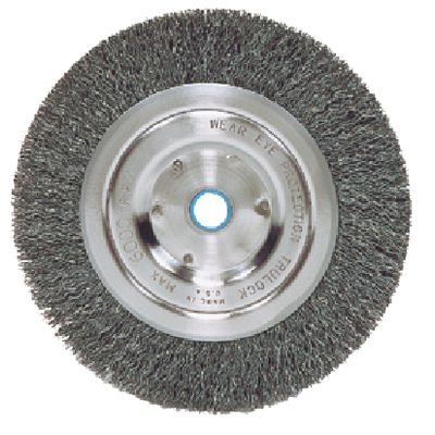 "6"" X 3/4"" CRIMPED WIRE WHEEL BRUSH 