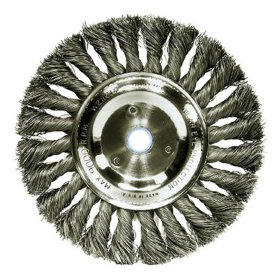 "6"" TWIST WIRE WHEEL BRUSH 