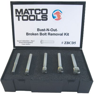 5 PIECE BUST-N-OUT SET STEP 2 | Matco Tools